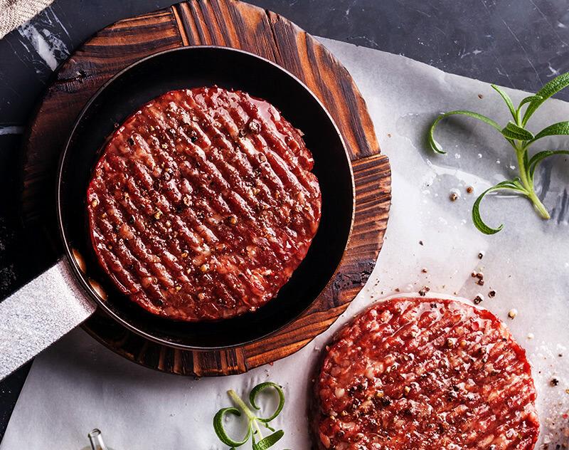 Barbecued fajita steak